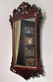 wood wall mirrors. Antique Fret Mirror Wood Wall Mirrors M