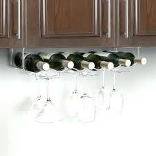 stemware rack ikea wine glass hangers under cabinet 6 bottle wine glass rack wine glass holder