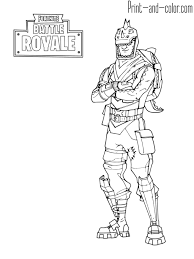 Fortnite Battle Royale Coloring Page Rex Fortnite In 2019
