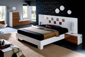 Bedroom  Delightful Modern Bedroom Furniture Ideas With Awesome - Black and walnut bedroom furniture