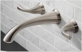 decoration contemporary wall mounted waterfall chrome finish curve spout throughout wall mounted bathtub faucets renovation