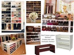 Diy Shoe Racks For Closets Clublilobal Com