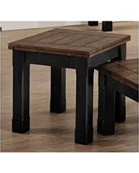 vintage industrial simmons metal side table. Simmons Upholstery End Table, Black/Oak Vintage Industrial Metal Side Table E