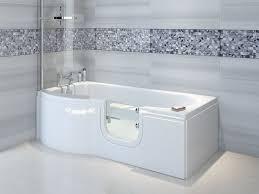 trojan concert easy access shower bath