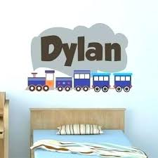 Decor Designs Decals Inspiration Decor Designs Decals Railroad Wall Plus Train Boys Name Decal By