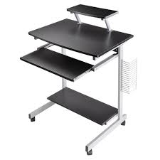 office tables on wheels. Amazon.com: Yescom Mobile Computer Desk Compact Student Laptop Cart Rolling Table Home Office: Kitchen \u0026 Dining Office Tables On Wheels W
