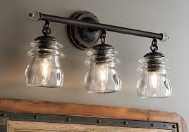 Industrial Chic to Rustic Farmhouse Bath Lights