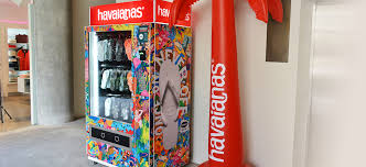 Havaianas Vending Machine Locations Stunning Vending Machine Indonesia