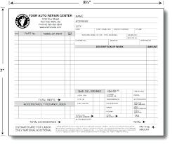Vehicle Repair Order Template Heatsticks Co