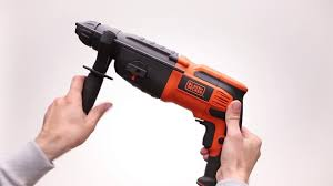 Обзор <b>Перфоратор BLACK & DECKER BDR26K-RU</b> - YouTube