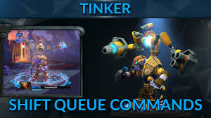 shift queue commands for tinker tinker guide mid dota 2 pro