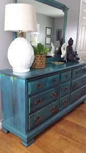 turquoise painted furniture ideas. Hand Painted Teal Dresser, Patina Green, Blue, Turquoise Bureau, Bohemian, Eclectic Furniture Ideas H