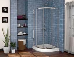 36 x 36 corner shower kit. fleurco alina semi-frameless round corner shower door 36\ 36 x corner shower kit