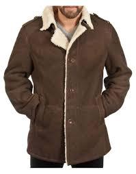 sheepskin shearling coat