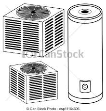 central air conditioner clipart. water heater and air conditioner - an image of a water. central clipart