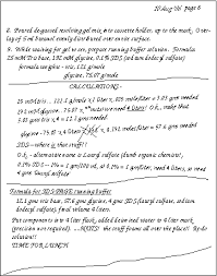 Lab Notebook Example Examples Of Notebook Pages