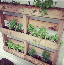 15 unusual vegetable garden ideas use an old pallet for your herbs