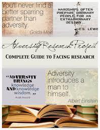 essays adversity essays