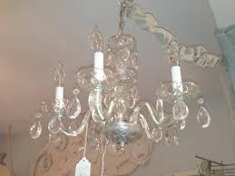image of elegant shabby chic chandelier