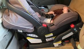 graco snugride connect car seat review gracosafety install graco base how to infant seat