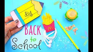 diy fun school supplies for back to school 2017 easy cute