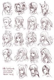 Hair Style Anime anime hair hats bows viel clown joker long hair short hair cut 5818 by wearticles.com