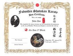 martial arts certificate template martial arts certificates templates mandegar info