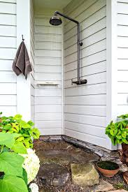 shower heads outdoor shower heads shower panels with mounted outdoor showers patio farmhouse and white