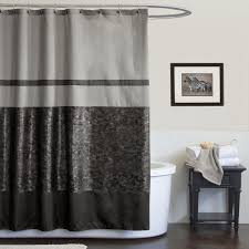 modern shower curtain ideas. Modern Shower Curtain In Dark Color (Image 11 Of 15) Ideas