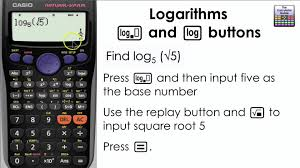 calculator trashed logarithms how to find the log of any base on the calculator collection of solutions solve casio