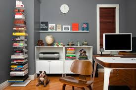 grey home office. Grey Home Office