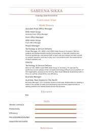 Front Office Manager Resume Samples - Visualcv Resume Samples Database