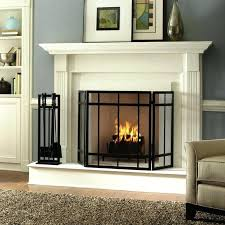 built in fireplace screen full size of doors curtain rod custom arched screens replacement built in fireplace screen