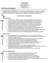 Resume Computer Skills Examples Custom Skills And Qualifications Resume Great Resume Skills Inexperienced