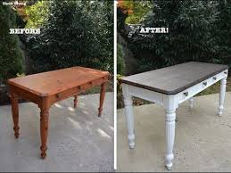 diy desk makeover using beyond paint