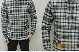 3 desember 2019 gambar model baju kemeja pria kombinasi. Baju Kemeja Kotak Kotak Pria Remaja Masa Kini Sungai Liat Jualo
