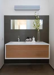 bathroom vanities modern. Bamboo And Marble Floating Bathroom Vanity Vanities Modern T