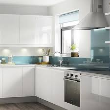 modern white cabinet doors. modern furnitures stylish kitchen cabinet doors white gloss flat and aqua backsplash florida apartment