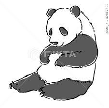 パンダのイラスト素材集 Pixtaピクスタ