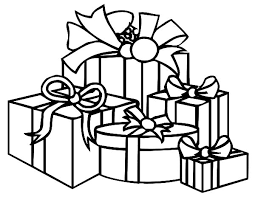 Small Picture Christmas Coloring Pages Presents Coloring Pages