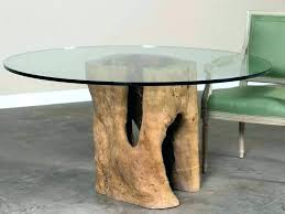 tree trunk tables end table for stump coffee cape town glass top