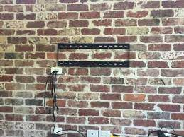 tv cable options for wall mounting