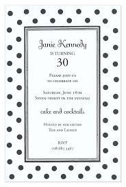 Polka Dot Invitations Black And White Dots Invitation
