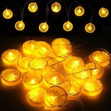 decorative string lighting. Wonderful String Starry String Lights Novelty Lemon Fairy Lights Indoor And Outdoor Decorative  Rope Lights For In Lighting G