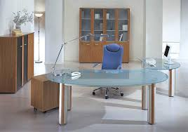 contemporary glass office. Impressive Modern Glass Executive Desk Office Interior Design Architecture Contemporary E