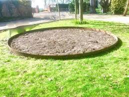 round landscape edging steel garden edging round metal lawn edging steel garden edging landscape edging stakes