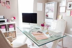 Work for the home office Stylish Manage Communication Preferences Hughes Marino Tips For Adding Touch Of Pink To Your Office Hughes Marino