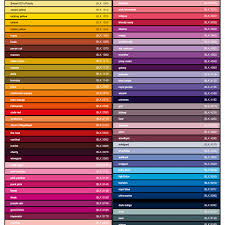 Bike Paint Colour Chart Montana Black Spray Paint
