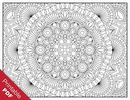 Small Picture Geometric Printable Coloring Pages Adult Coloring Coloring Pages