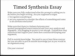 synthesis essay ap synthesis essay planning and pre writing ap language arts and composition synthesis essay prompt